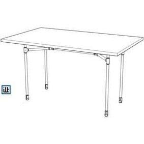 Tischgestell aus Rohren