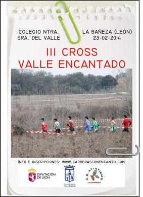 III CROSS DEL VALLE ENCANTADO - La Bañeza, 23-02-14