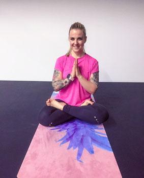 Pink Pearl Yoga Sabrina Hediger Winterthur