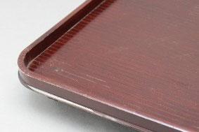 木製尺0膳 溜塗りウレタン塗り修理