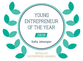 StudioSaf: young entrepreneur of the year 2020 Benelux Enterprise Awards