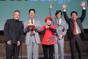 Jimdo Best Pageを受賞した松戸市観光協会と制作を担当したWeb制作会社鳥〜みんぐの皆さま