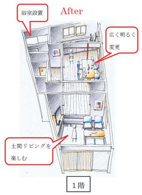 看板建築改修案