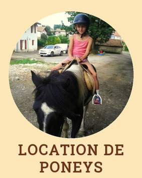 Location de poneys - Centre de Tourisme Equestre Larrun Alde