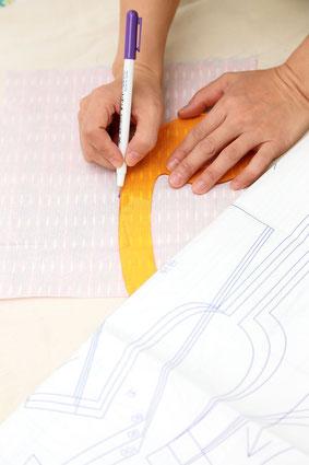 Travaux couture atelier