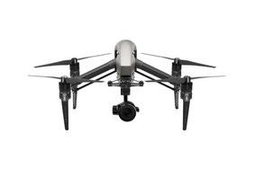 Die Drohne Inspire 2 für professionelle Luftaufnahmen in München