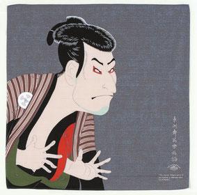 furoshiki ukiyoe sharaku