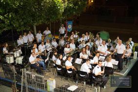 Concierto conjunto Bandas Pina y El Burgo de Ebro, 10 de julio de 2015