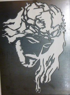Arte en corte de metal Stainless Steel