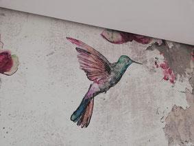 papel pintado de pájaros