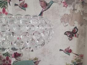 foto de papel pintado en pared de comedor