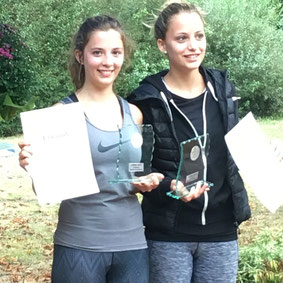 v.l.: Maryline, Sandrine