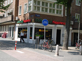 Coffeeshop Weedshop Happiness Amsterdam