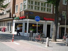 Coffeeshop Weedshop Happiness Amsterdam