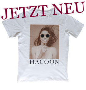 Hacoon T-Shirt Motiv Girl Lolly