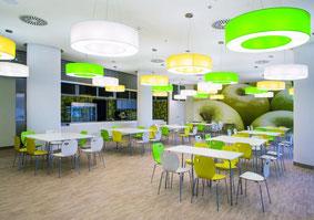 Besucher- und Kantinenstuhl Cafe Serie Nowystyl