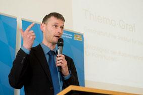 Impuls-Vortrag von Thiemo Graf bei der Auszeichnungsveranstaltung der AGFK Bayern