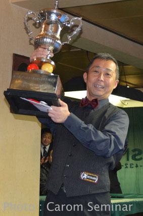 優勝:船木耕司(JPBF)