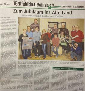 Artikel des WVB vom 20.11.2013