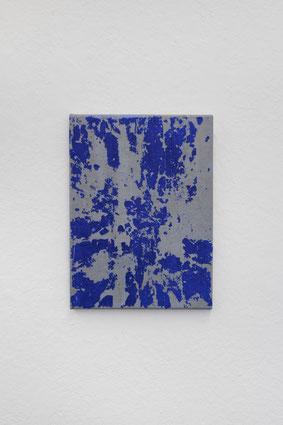O.T. / 2020 / Gips / Vinyl / Lack / Leinen / 39 x 29 cm