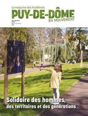 Couverture de Puy-de-Dôme en Mouvement adapté par Braille & Culture