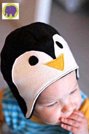 Pinguinmütze - kostenloses Schnittmuster - Website von my Fancywork