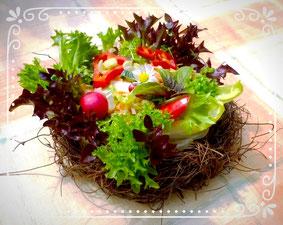 Farmersalat 'im Nest', www.basenfasten-hamburg.net