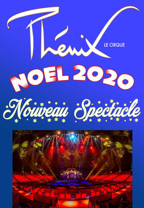 Cirque Phenix Spectacle NOEL CSE GAIA