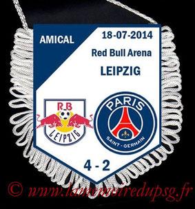 Fanion  Leipzig-PSG  2014-15