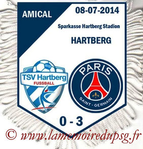 Fanion  Hartberg-PSG  2014-15