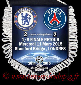 Fanion  Chelsea-PSG  2014-15