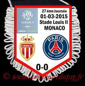 Fanion  Monaco-PSG  2014-15