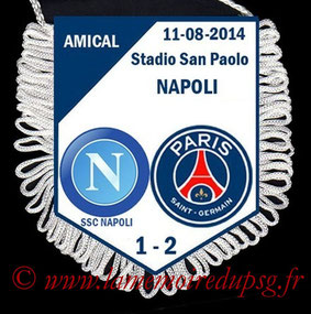Fanion  Naples-PSG  2014-15