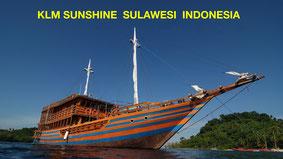 Liveaboard Sulawesi KLM Sunshine, Tauchen