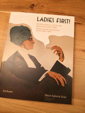 Ladies first, Mara Schrötter-Malliczky, steirische Künstlerinnen, Joanneum Graz,