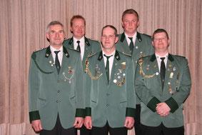 Von links: Ludger Brokamp, Andreas Rojer, Holger Geers, Manfred Leigers und Markus Völlering