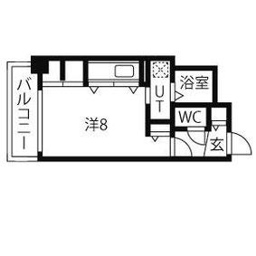 3号室 (22.03㎡)