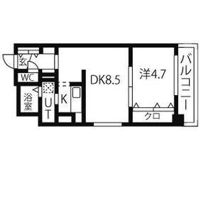 7号室 (34.84㎡)