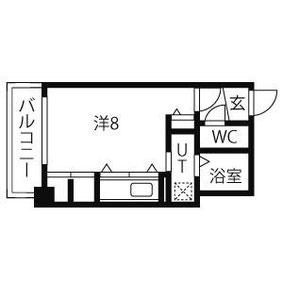 1号室 ( 22.03㎡