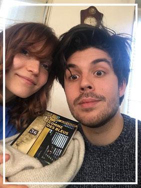 Marie Talvat et Alex Laloue