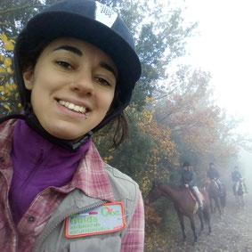 Valeria Fazzi guida equestre