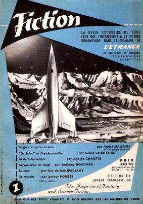 Le N°1 de la revue Fiction dirigée pendant plus de 20 ans par Alain Dorémieux.