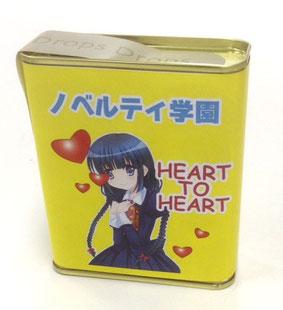 ドロップス缶オリジナル紙巻き印刷