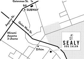 dog salon sealy access map