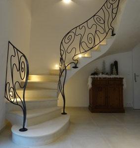 construction d 39 escaliers sur vo te sarrasines escalier sur vo te sarrasine. Black Bedroom Furniture Sets. Home Design Ideas
