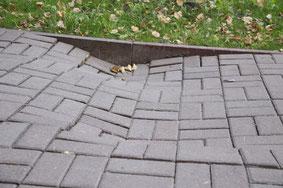 неправильная укладка тратуарной плитки, ошибки при укладке тратуарной плитки Ставрополь