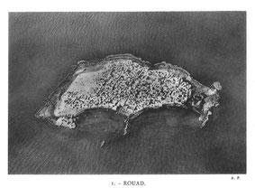 L'île de Rouad en 1934. Temple de Paris