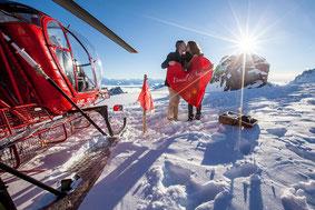 Alpenrundflug mit Gletscherlandung ab Bern