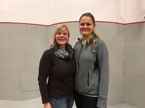 Sportjugendleitern Susanne Niekrawietz u. Paulina Pfau-Antolek
