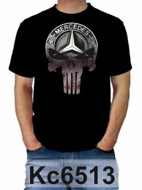 Mercedes Punisher Fan Shirt